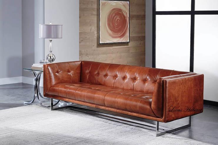 Singapore Furniture Leather Sofa